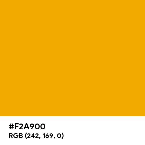 Signal Yellow (RAL) (Hex code: F2A900) Thumbnail