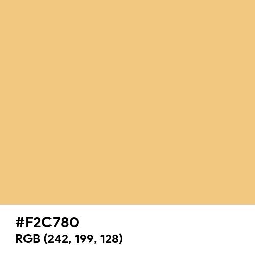 Topaz (Hex code: F2C780) Thumbnail