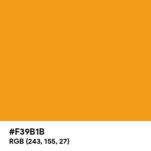 Dahlia Yellow (RAL) (Hex code: F39B1B) Thumbnail
