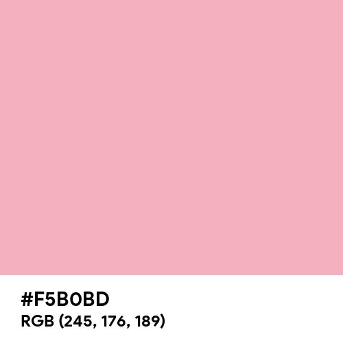Candy Pink (Hex code: F5B0BD) Thumbnail