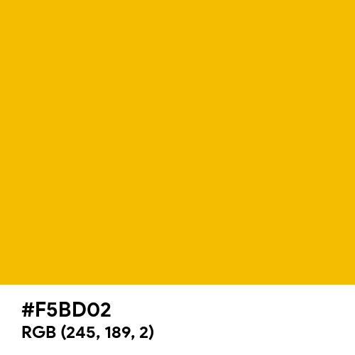 Royal Gold (Hex code: F5BD02) Thumbnail