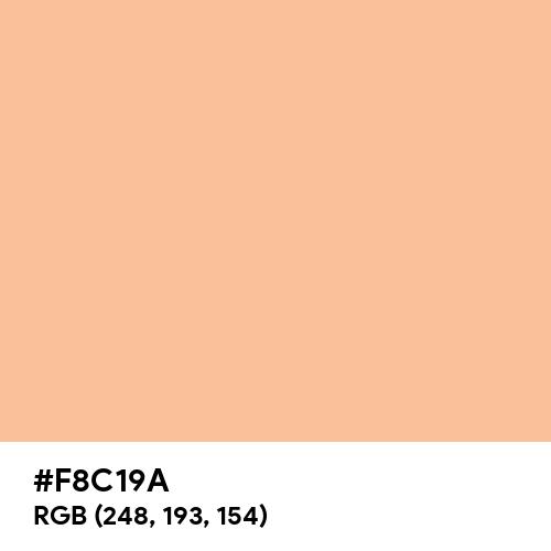 Cream Blush (Hex code: F8C19A) Thumbnail