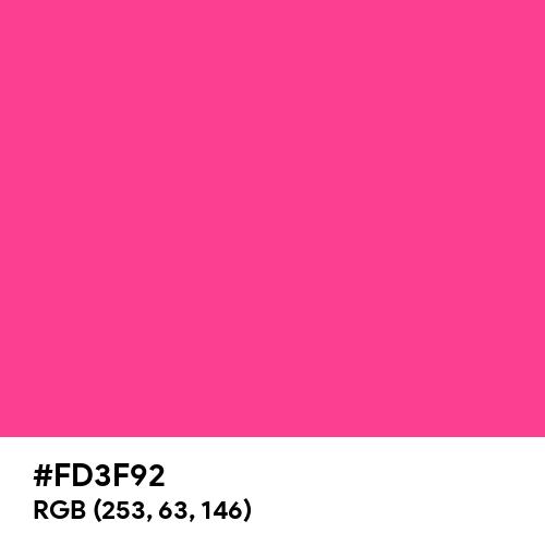 French Fuchsia (Hex code: FD3F92) Thumbnail