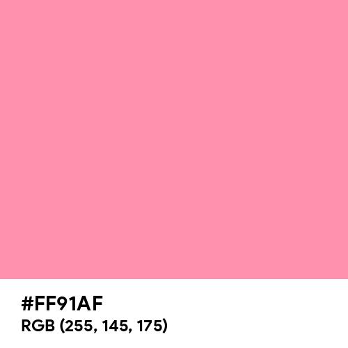 Baker-Miller Pink (Hex code: FF91AF) Thumbnail