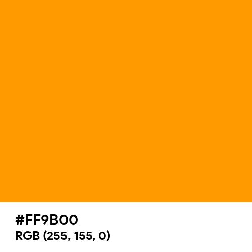Dutch Orange (Hex code: FF9B00) Thumbnail