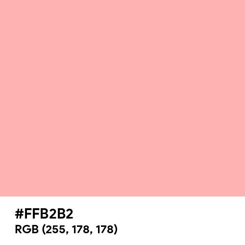 Melon (Hex code: FFB2B2) Thumbnail