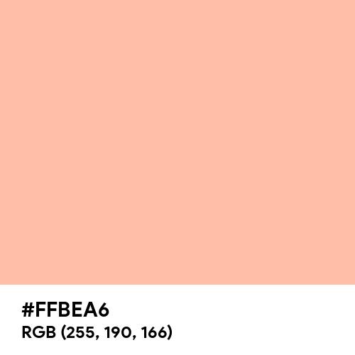 Deep Peach (Hex code: FFBEA6) Thumbnail