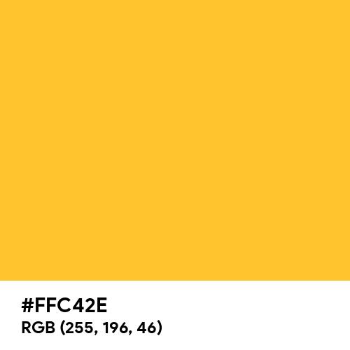 Neon Gold (Hex code: FFC42E) Thumbnail