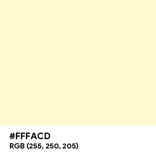 Lemon Chiffon (Hex code: FFFACD) Thumbnail