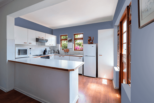 Pretty Photo frame on Wild Wind color kitchen interior wall color