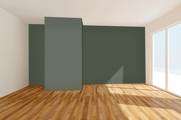 Pretty Photo frame on OG-107 color Living room wal color