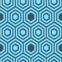 honeycomb-pattern - 80DFFF