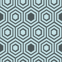 honeycomb-pattern - C3E0E4