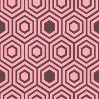honeycomb-pattern - FFACB7