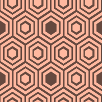 honeycomb-pattern - FFB89F