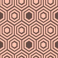 honeycomb-pattern - FFC2AD