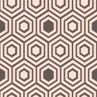 honeycomb-pattern - FFE1D6