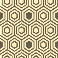honeycomb-pattern - FFEEBF