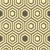 honeycomb-pattern - FFF0B8