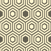 honeycomb-pattern - FFF5CF