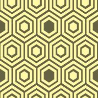 honeycomb-pattern - FFF9A8