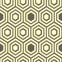 honeycomb-pattern - FFFBCB