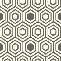 honeycomb-pattern - FFFEEE