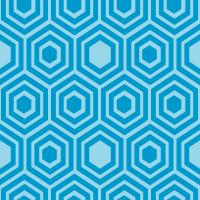 honeycomb-pattern - 0099CC