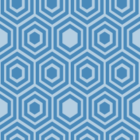 honeycomb-pattern - 4989B9