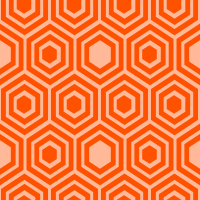 honeycomb-pattern - FF5200