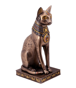 Ancient Egypt Cat Bastet Statu