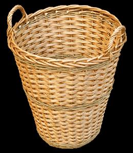 Basket of buff yellow