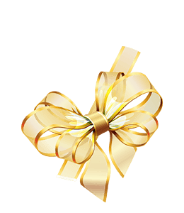 Beautiful Ribbon Gold