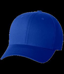 Blue colored cap