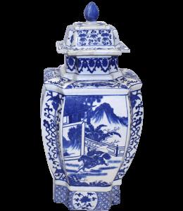 Ceramic Chinese vase