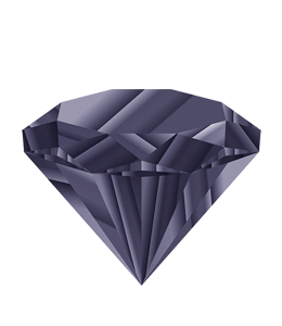 Blue-Gray diamond illustration
