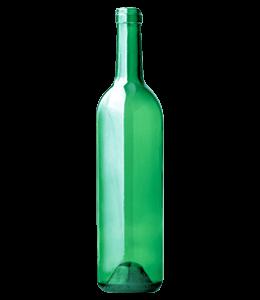 Green color bottle