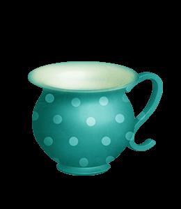 Ceramic Turquois pitcher