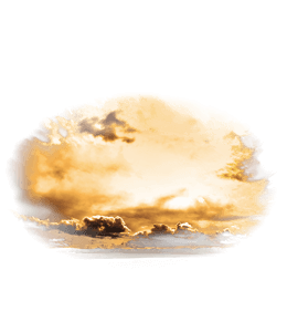 Clouds in the sunset