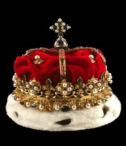 Diamond studded crown