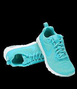 Cyan Colored Sneakers