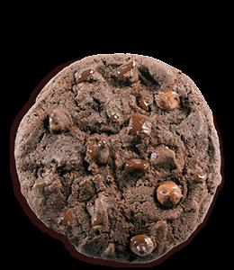 Dark brown cookie