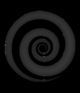 Dark gray spiral