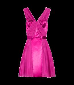 Deep pink colored dress