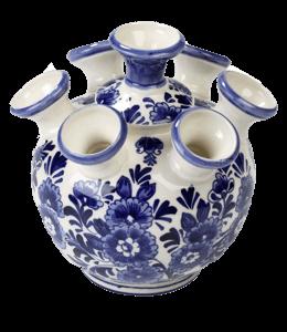 Delft tulip vase