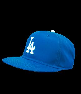 Dodgers blue cap