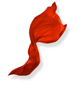 Flying Red cloth