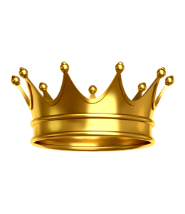 Crown of gold of kings