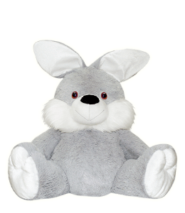 Gray Colored Soft Toy