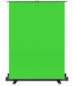 Green screen with stand